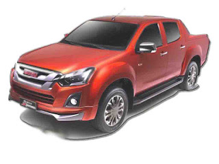 New Car Isuzu D-Max X-Series 2017
