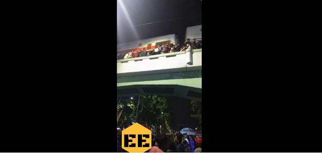Viral Video Anak Penonton Drama Kolosal di Surabaya Jatuh Usai Terserempet Kereta
