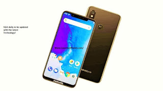 This Moto hollo volition hold upward launched amongst the notch Moto One Power 2018 Pictures are leaked