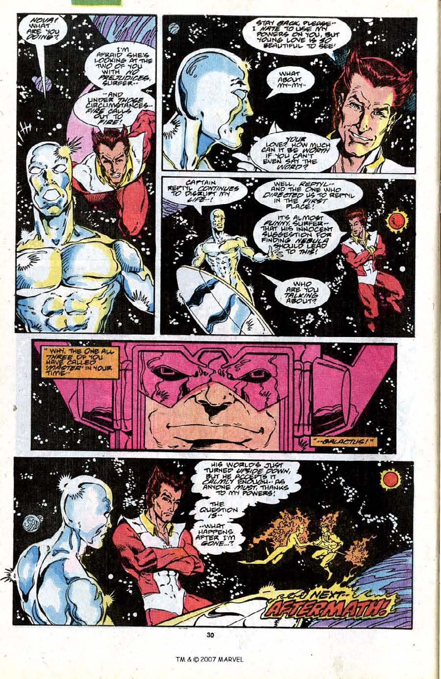 Read online Silver Surfer (1987) comic -  Issue #19 - 32