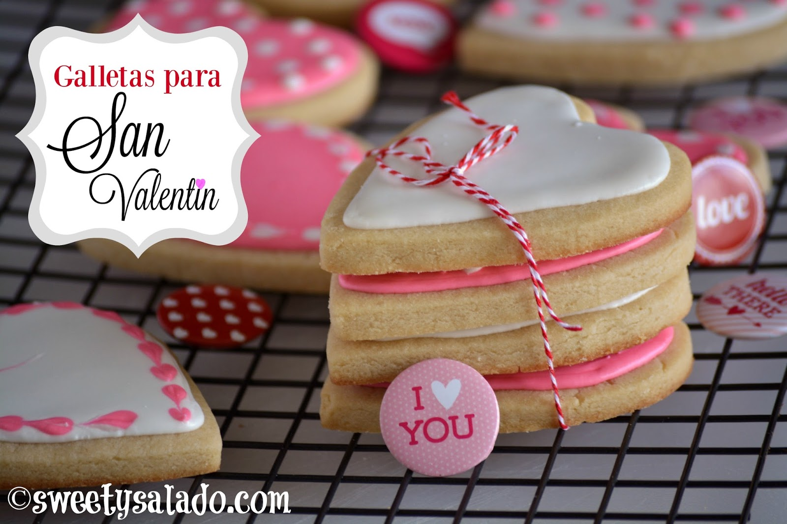 Como Decorar Galletas De Corazon Galletas Para San Valentín