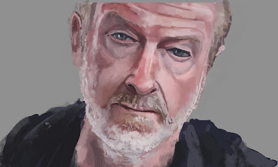Portrait study Ridley Scott