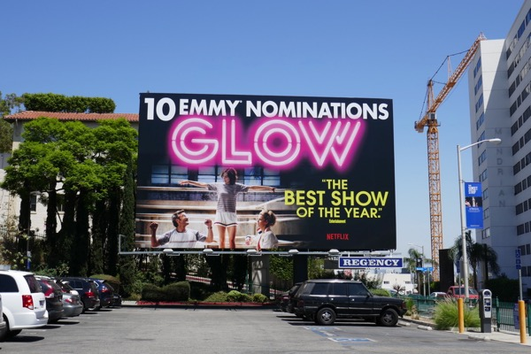 GLOW 10 Emmy nominations billboard
