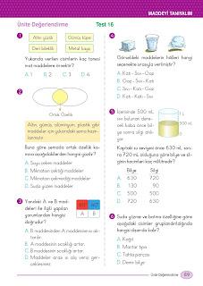 5. Sınıf Arapça Ders Kitabı Cevapları Mektep Sayfa 89