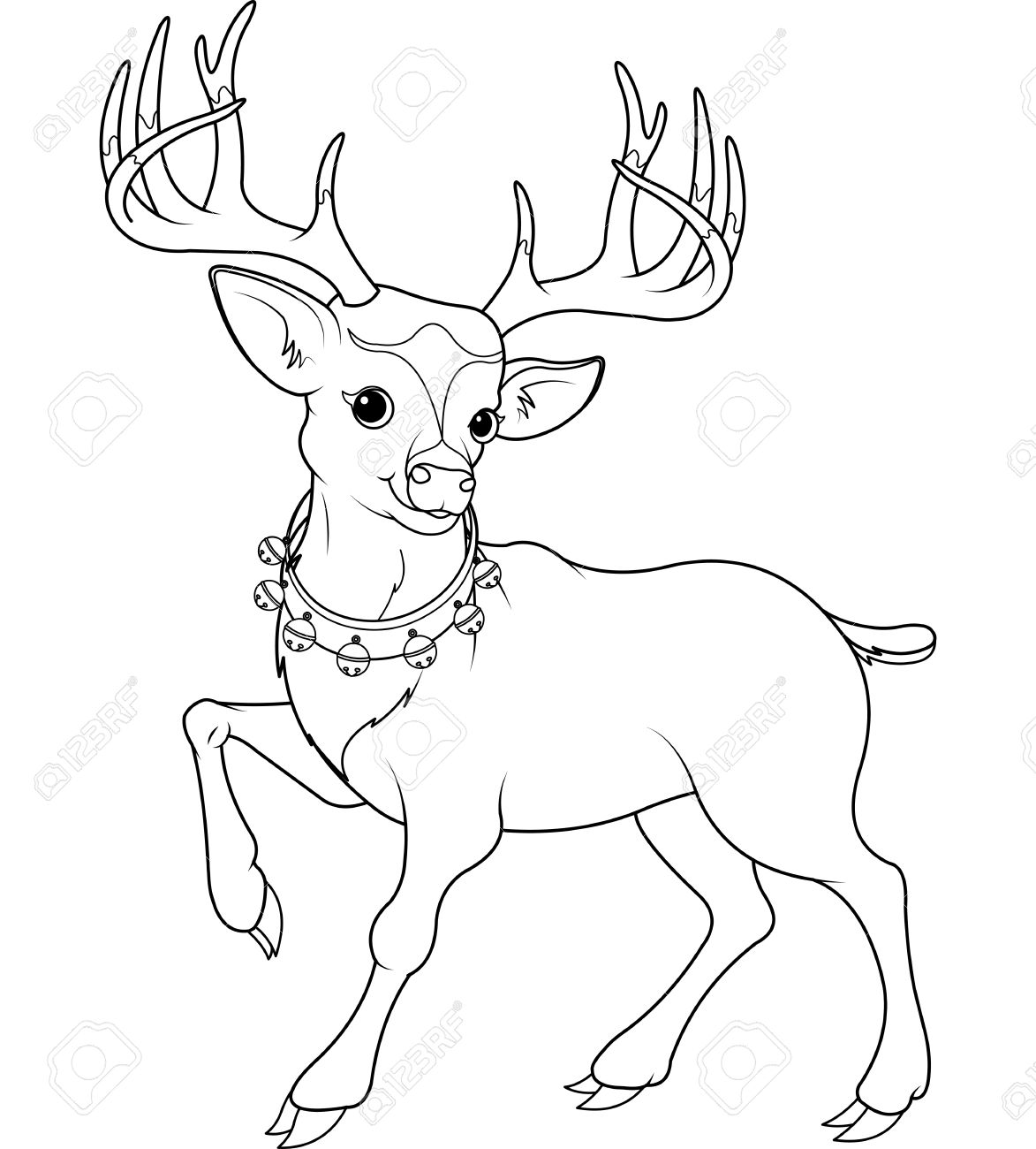 Christmas Animal Coloring Pages Trendy Animals Pictures To Color