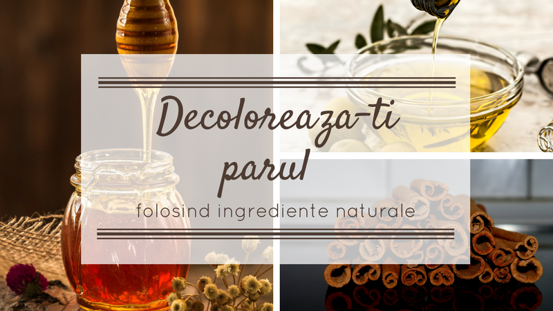 Decoloreaza-ti parul folosind ingrediente naturale