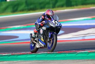 Hasil CIV Race 2 Itali : Galang Hendra Sempat posisi ke2 sebelum Crash