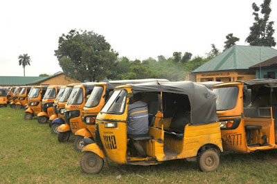Stopping Keke drivers operating from 7pm In Aba