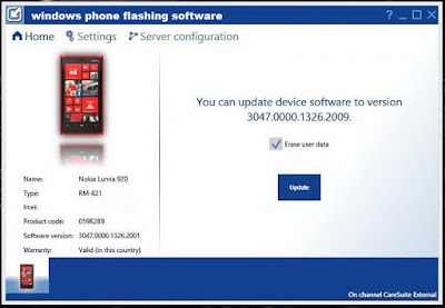 windows mobile flashing software