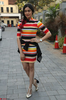 Adha Sharma in a Cute Colorful Jumpsuit Styled By Manasi Aggarwal Promoting movie Commando 2 (81).JPG