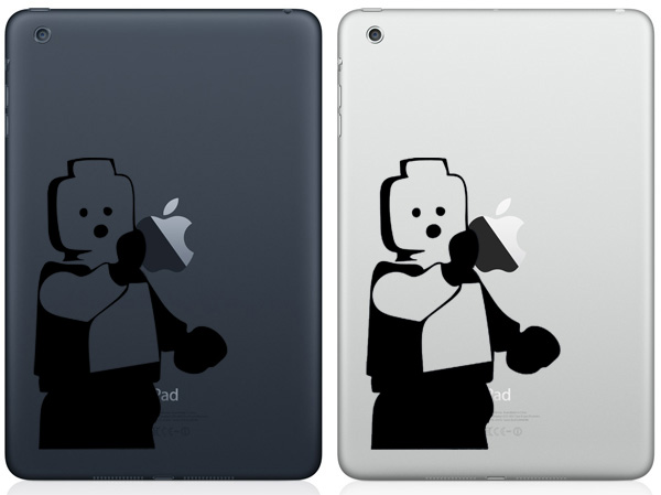 Lego Man iPad Mini Decals