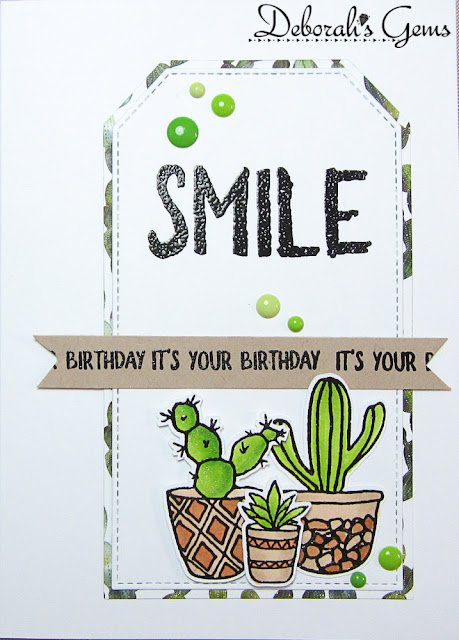 Smile it's your birthday - photo by Deborah Frings - Deborah's Gems