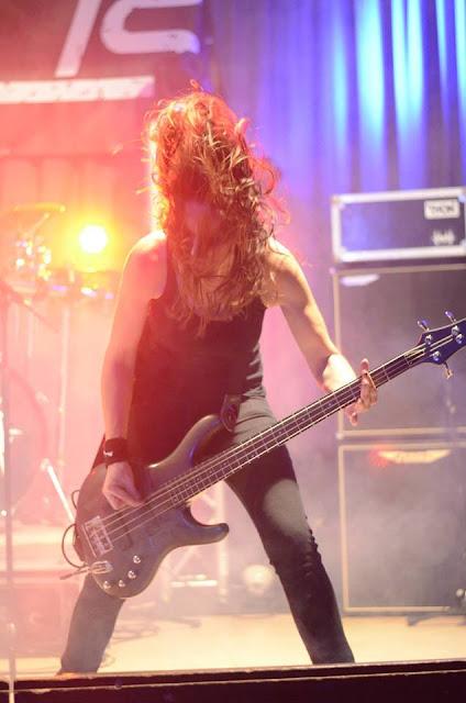 Ladies of Metal: Carmen Mayer (Pain Is), Ladies of Metal, Carmen Mayer, Pain Is