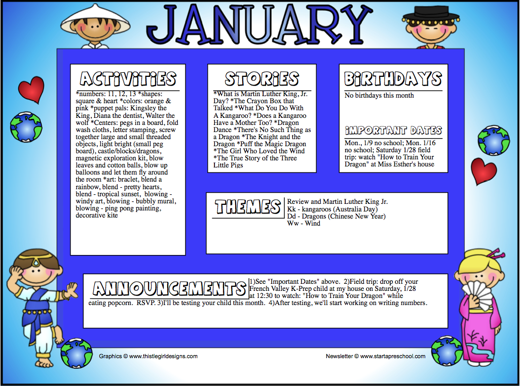 Screen+Shot+2012-01-08+at+9.30.18+AM January Kindergarten Newsletter Template on cixi angel, for plants, end year, things practice, fair use, december gingerbread,