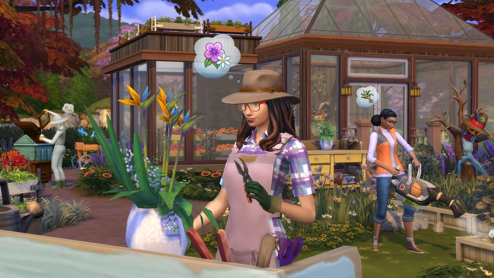 Los Sims 4 Y Las Cuatro Estaciones PC ESPAÑOL (CODEX) 4