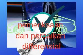 Pemeriksaan dan perbaikan Differensial pada mobil