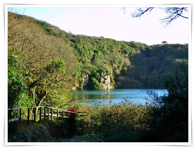 China Clay Lake, once a quarry