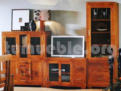 mueble modular en teca 5