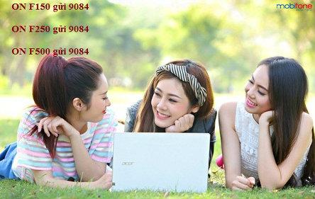 Các gói cước 3G Fast Connect Mobifone chu kỳ dài