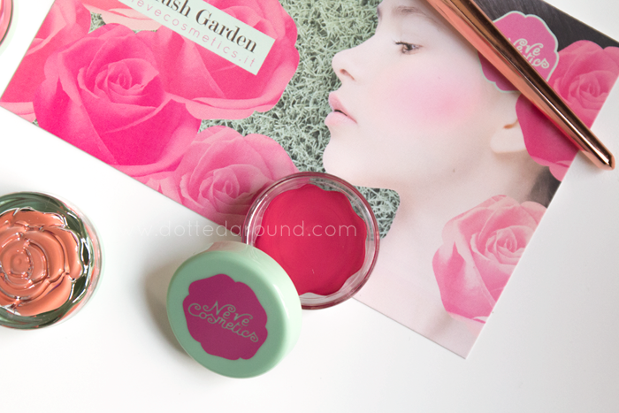 neve cosmetics sunday rose blush garden