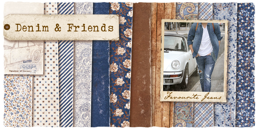 "Giveaway ""Denim & Friends"" from Maya Design"