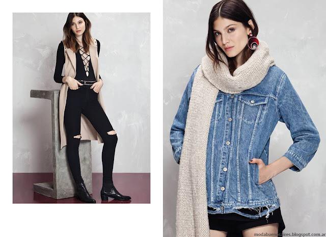Moda invierno 2016 blusas y túnicas Kosiuko. Moda 2016.