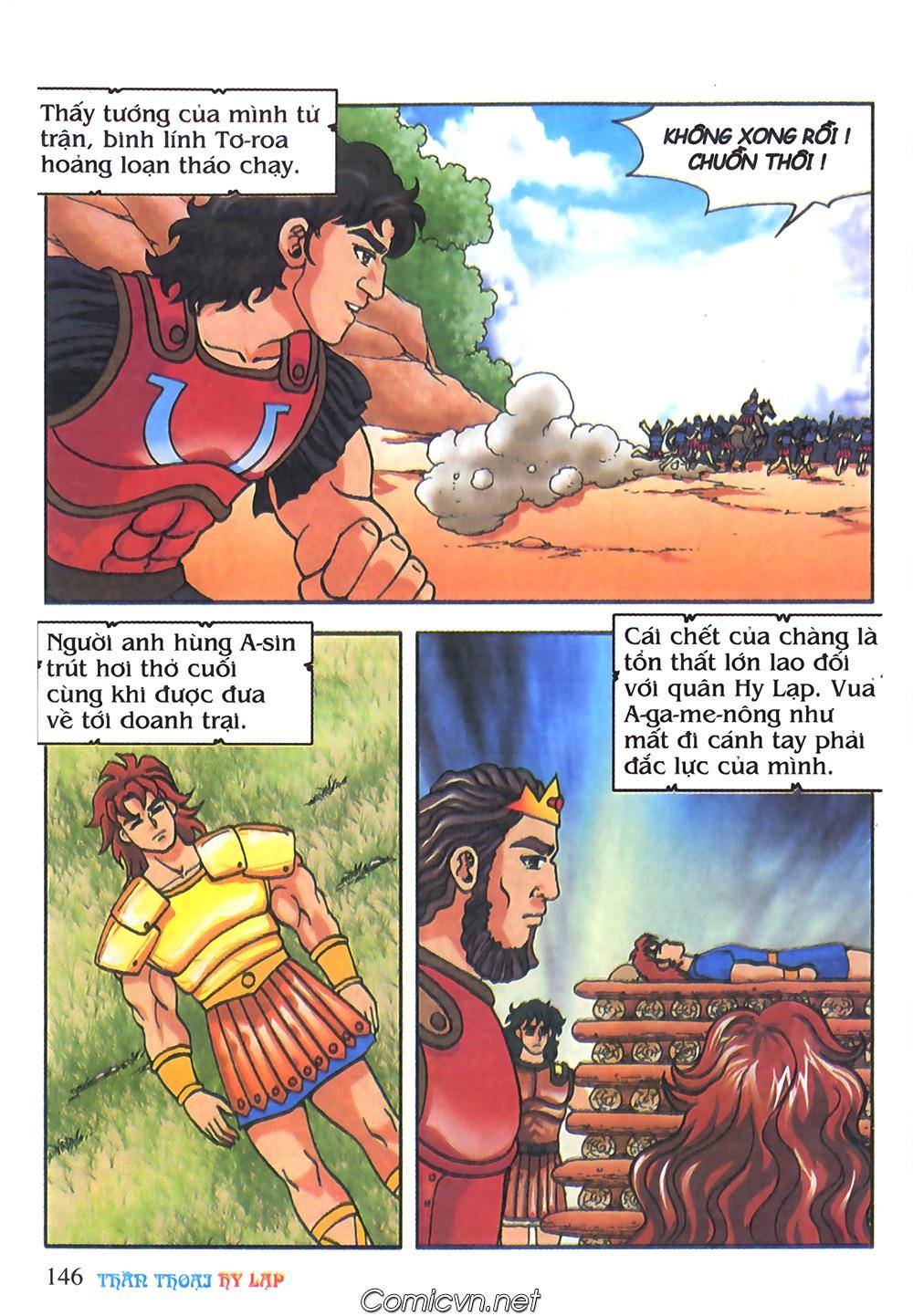 Thần Thoại Hy Lạp Màu - Chapter 65: Gót chân A sin 2 - Pic 29