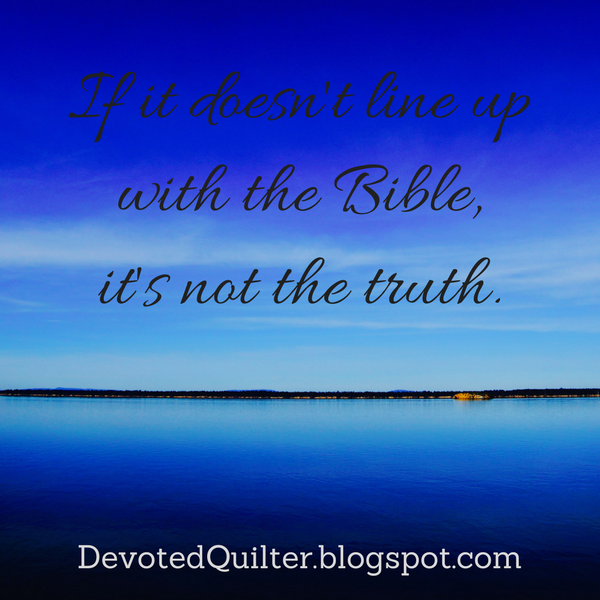 Weekly devotions on Christian living | DevotedQuilter.blogspot.com #christianliving #christian #devotion #bible