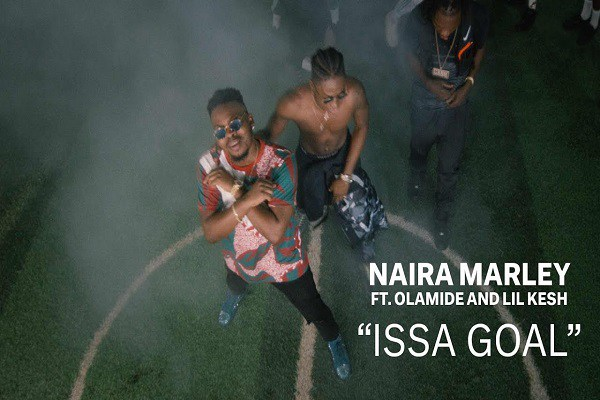 MUSIC VIDEO: Naira Marley - Issa Goal ft. Olamide and Lilkesh
