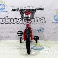 Sepeda Anak Brian X6 BMX 2-4 Tahun Steel OPC Crank 12 Inci