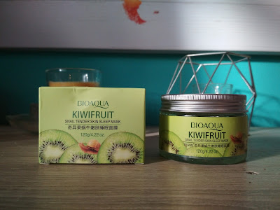 Recenzja - maseczka na noc Bioaqua Kiwi fruit