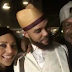 Photos: Lola and Peter Okoye hang out with singer Jidenna