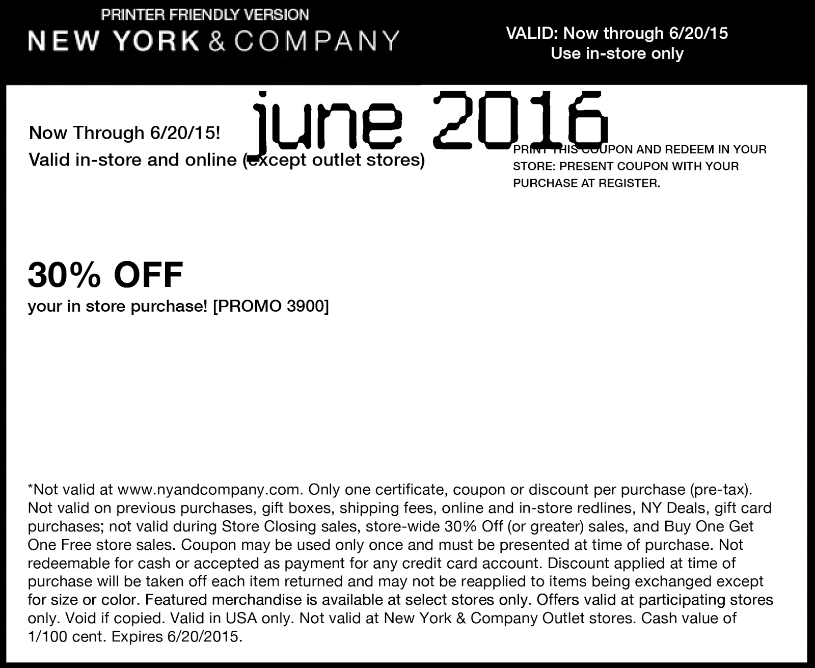 New york and company coupon code