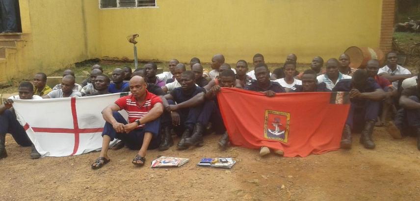 40 fake navy officers arrested sagamu