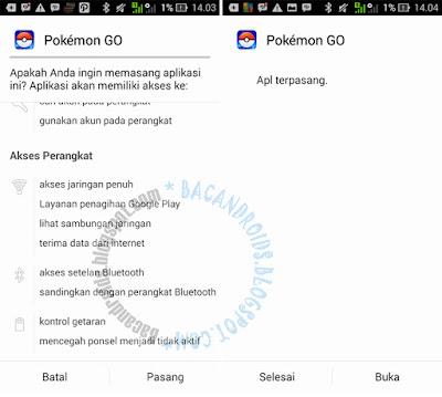 Instal Pokemon GO di Asus Zenfone terbaru