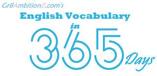 Vocabulary Important English