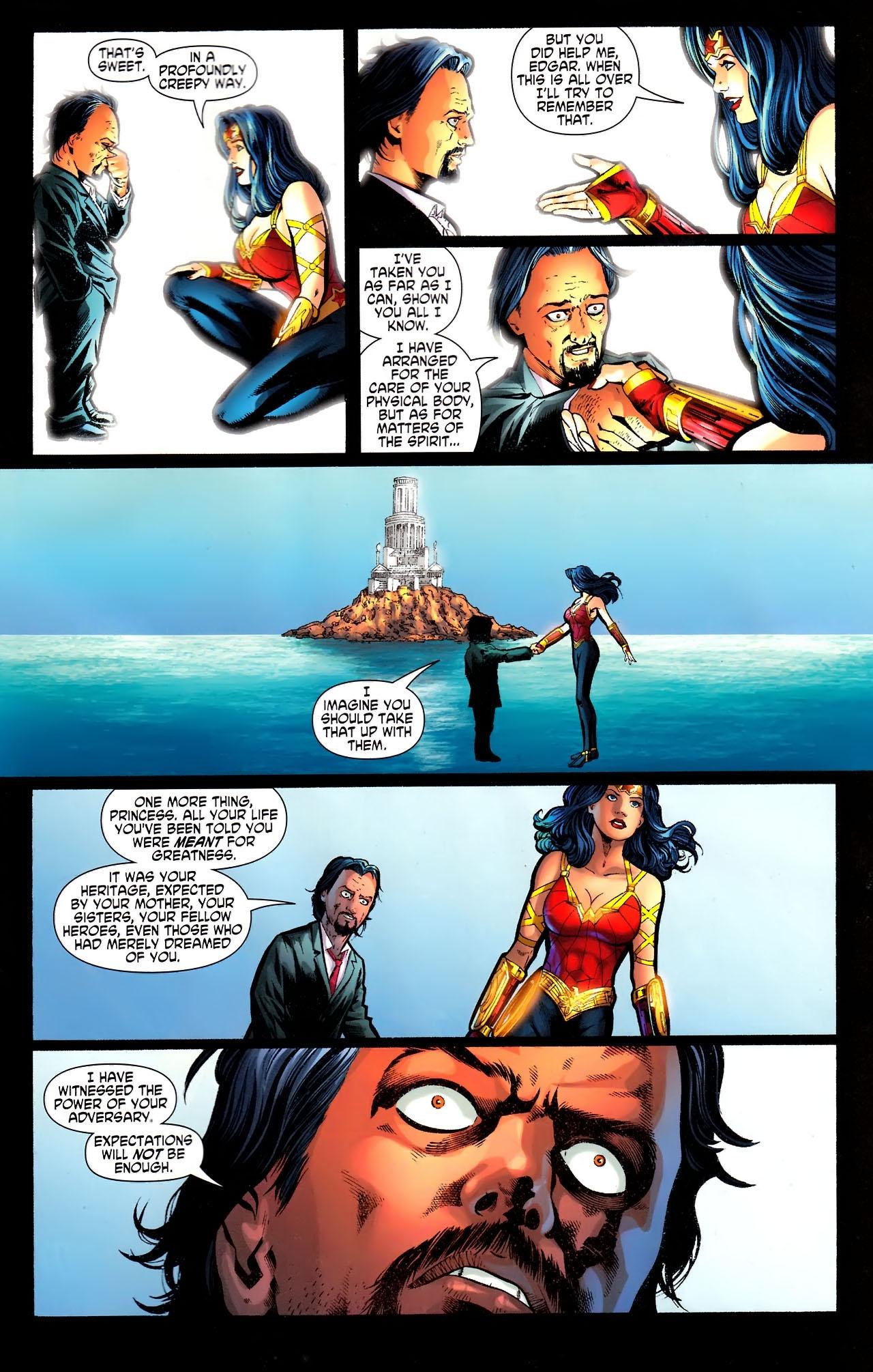 Read online Wonder Woman (2006) comic -  Issue #609 - 14