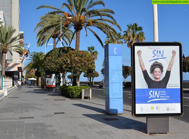 El Cabildo pone en marcha la campaña 'Mejor ser SIN', de prevención del consumo de alcohol y drogas entre los jóvenes