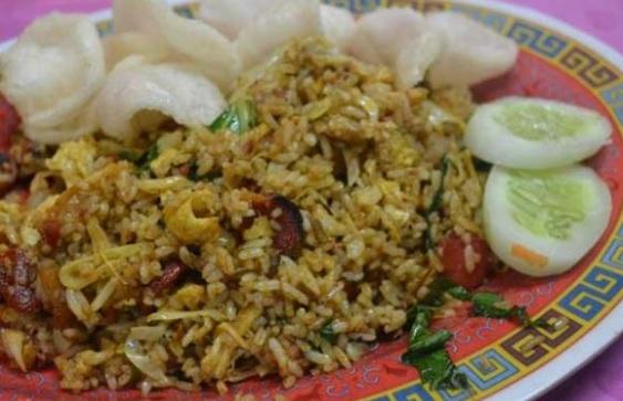 Resep nasi goreng kaki lima beserta bumbunya