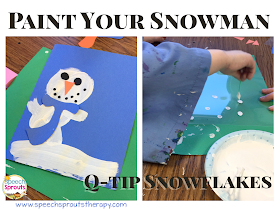 Speech Sprouts Snowman In A Snowstorm An Easy Winter