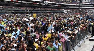 Concierto Ke Buena en el mítico Estadio Azteca | Ximinia