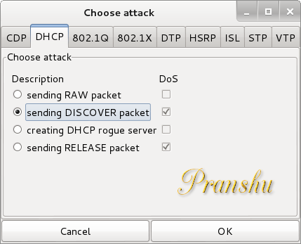 The Life of a Penetration Tester: DHCP DOS Attack with