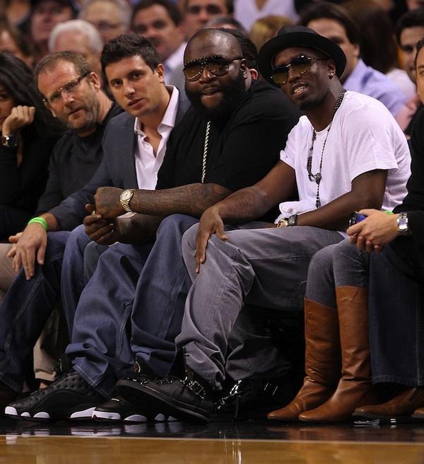 new style b3dd4 99f09 Rich Kicks: Rick Ross Wearing Air Jordan 13