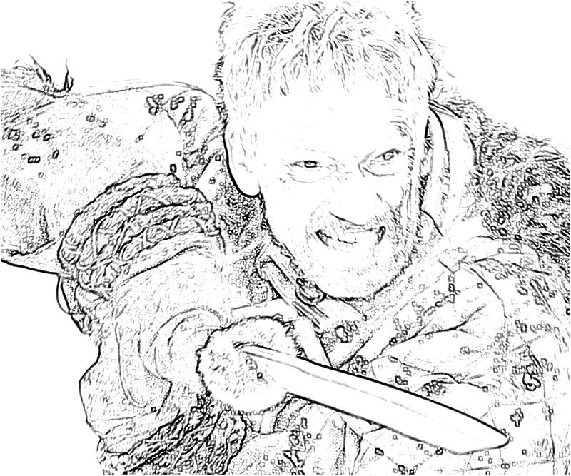 game of thrones coloring book pages colored - photo #21