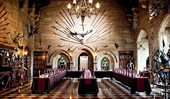 Castelo - Salão de banquete