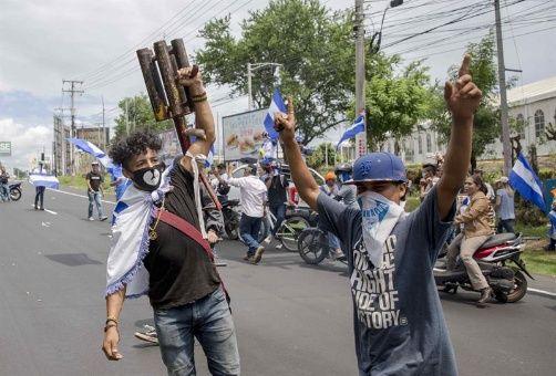 Campaña vandálica en Nicaragua: asesinan a otros dos policías