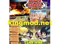 Ninja Heroes Reborn: Dihapus di Playstore Bisa di Download Disini Update Terbaru Apk
