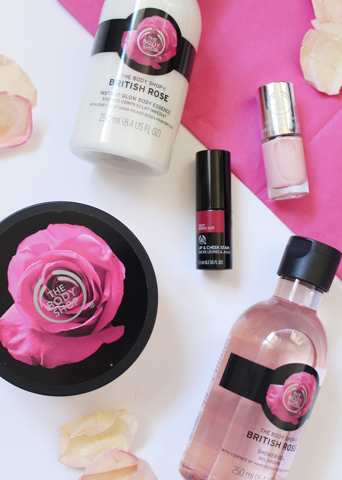 THE BODY SHOP | British Rose Collection - Review + Swatches - CassandraMyee