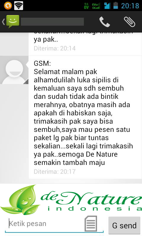 REAL TESTIMONI PASIEN SIPILIS