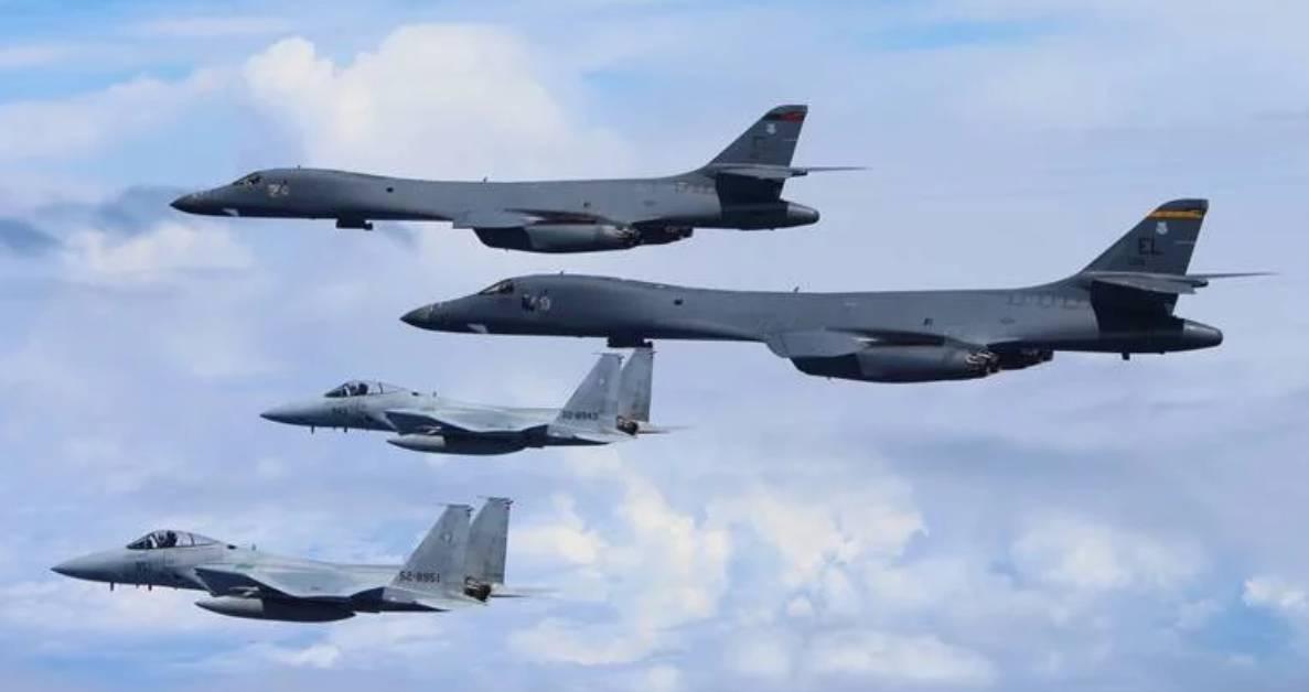 Angkatan Udara AS dan Korea Selatan melakukan latihan gabungan